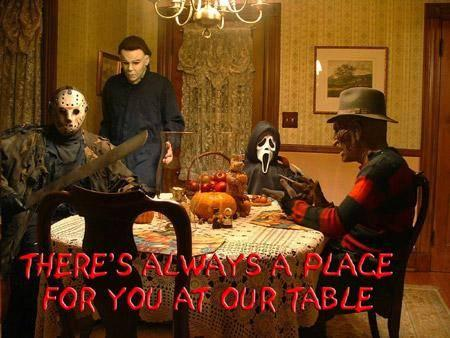 there's always a place for you at our table freddy jason michael ...
