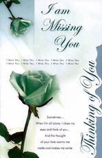 i am missing you thinking of you