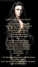 evocation of the witch