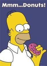 mmm donuts homer simpson
