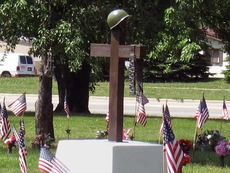 soldier tombstone