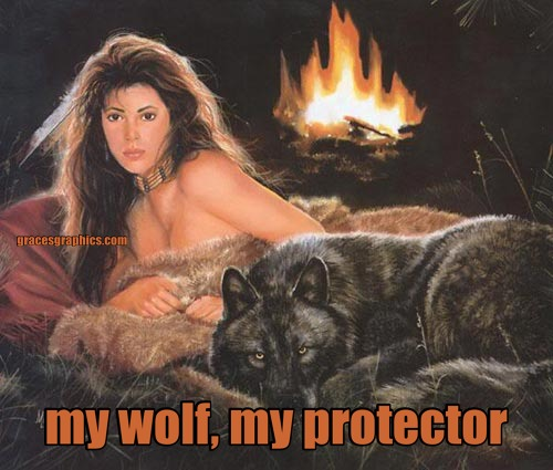 my wolf, my protector