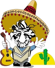 man with guitar and sombrero