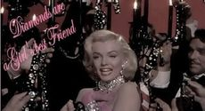 diamonds are a girl's best friend marilyn monroe