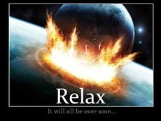 relax it will all be over soon