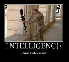 intelligence he doesn't even have an arrow