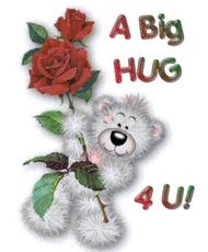 a big hug for 4 U teddy bear