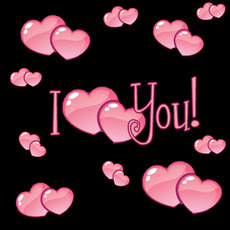 i love you hearts