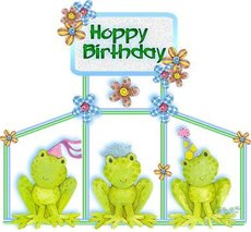 happy birthday frogs