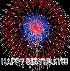 happy birthday fireworks
