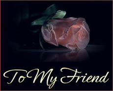 to my friend