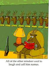 funny rudolph